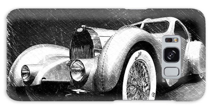 Bugatti Galaxy S8 Case featuring the photograph Bugatti Type 57 Aerolithe by Dick Goodman
