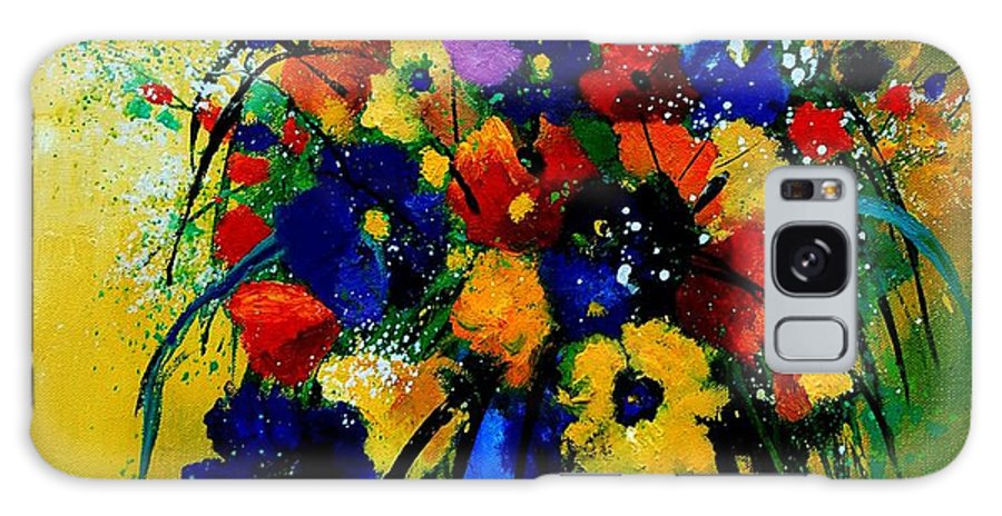 Poppies Galaxy S8 Case featuring the painting Bunch 0508 by Pol Ledent