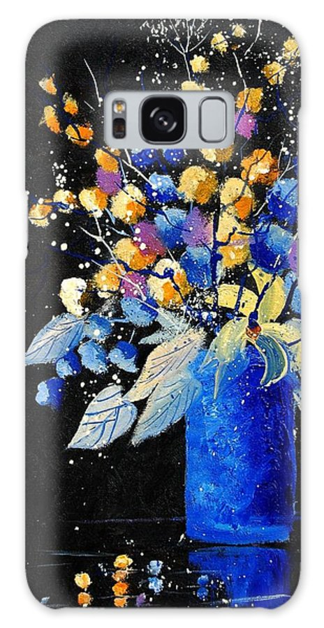 Flowers Galaxy S8 Case featuring the painting Bunch 451008 by Pol Ledent