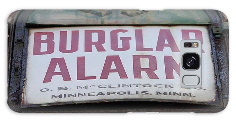 Burglar Alarm Galaxy S8 Case featuring the photograph Burglar Alarm by Lauri Novak