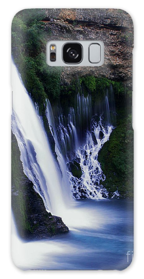 River Galaxy Case featuring the photograph Burney Blues by Peter Piatt