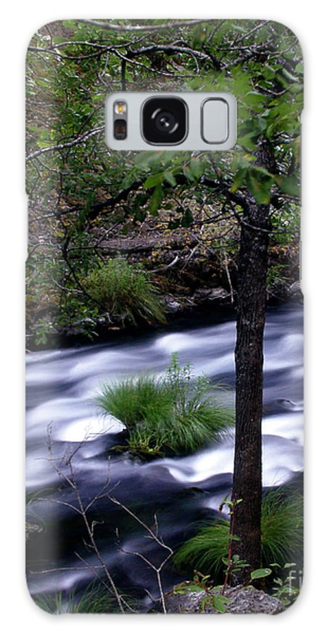River Galaxy S8 Case featuring the photograph Burney Creek by Peter Piatt