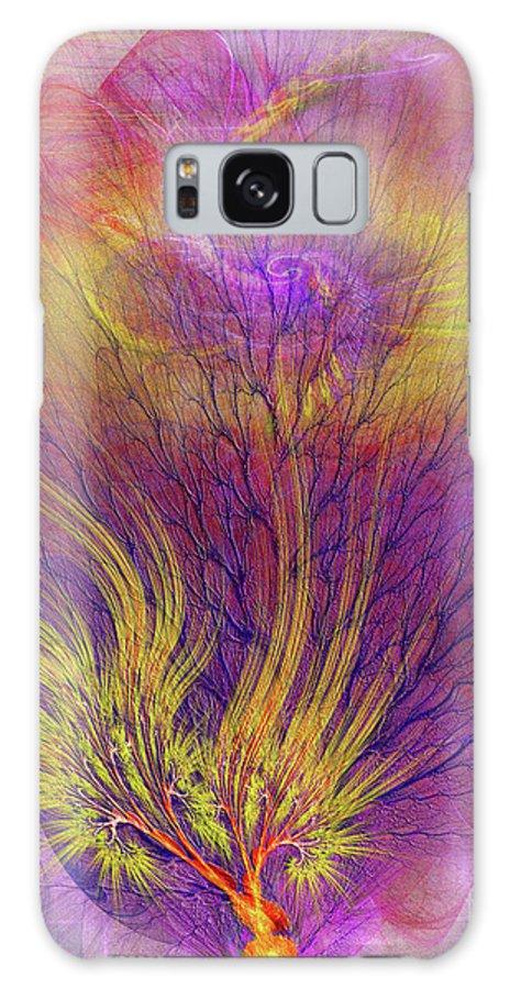 Burning Bush Galaxy S8 Case featuring the digital art Burning Bush by John Beck