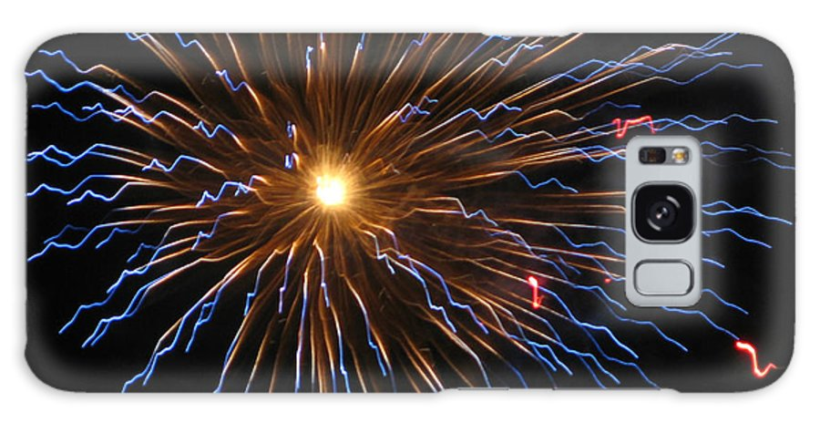 Fireworks Galaxy S8 Case featuring the photograph Bursting In Air by M E Cieplinski