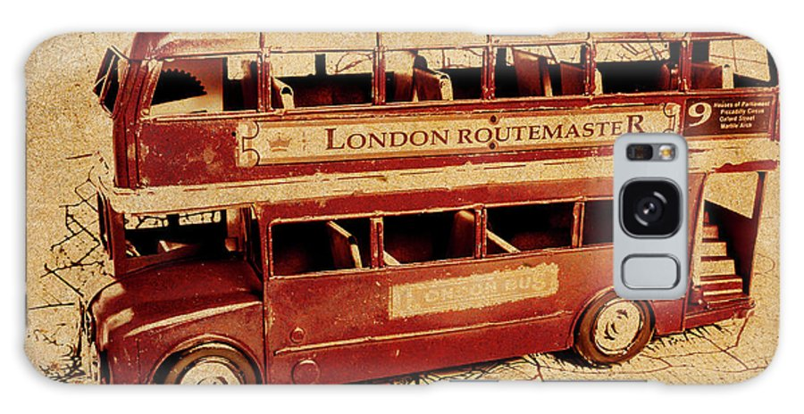 Vintage Galaxy S8 Case featuring the photograph Buses Of Vintage England by Jorgo Photography - Wall Art Gallery