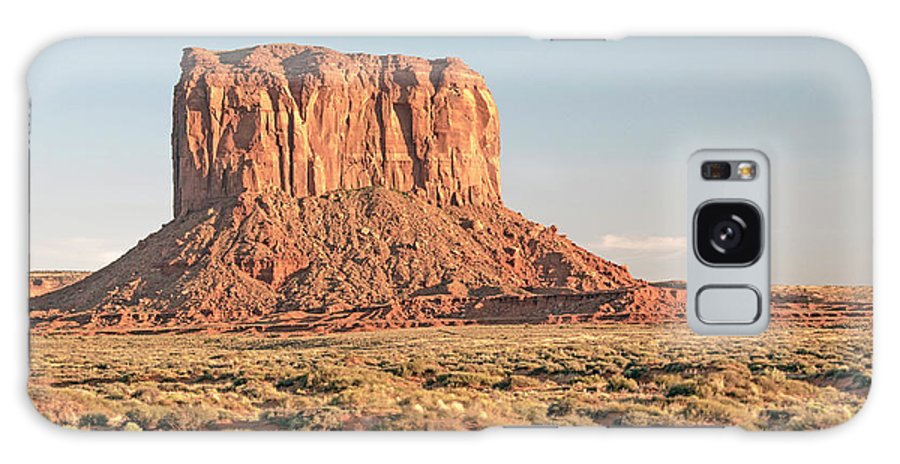 Butte Galaxy S8 Case featuring the photograph Butte, Monument Valley, Utah by A Gurmankin