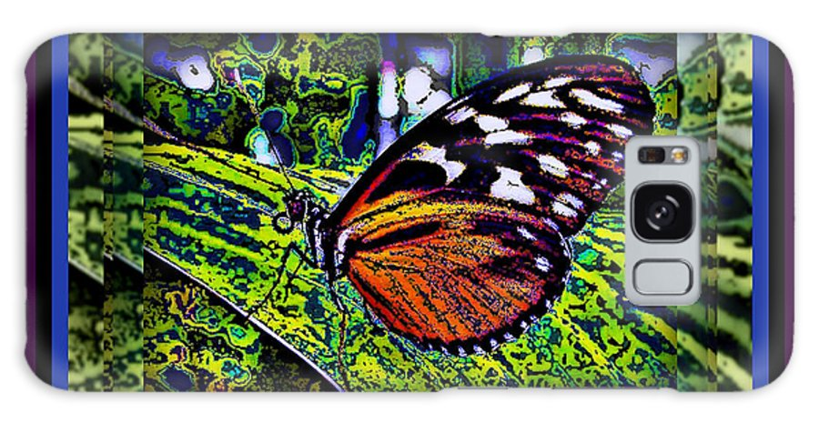 Butterfly Galaxy S8 Case featuring the photograph Butterfly Dreams by Leslie Revels