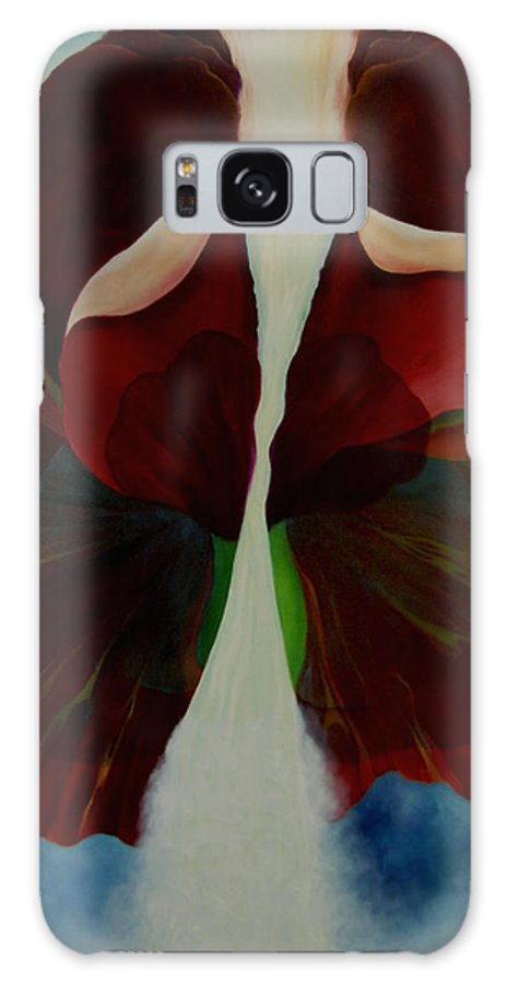 Butterfly Galaxy S8 Case featuring the painting Butterfly by Peggy Guichu