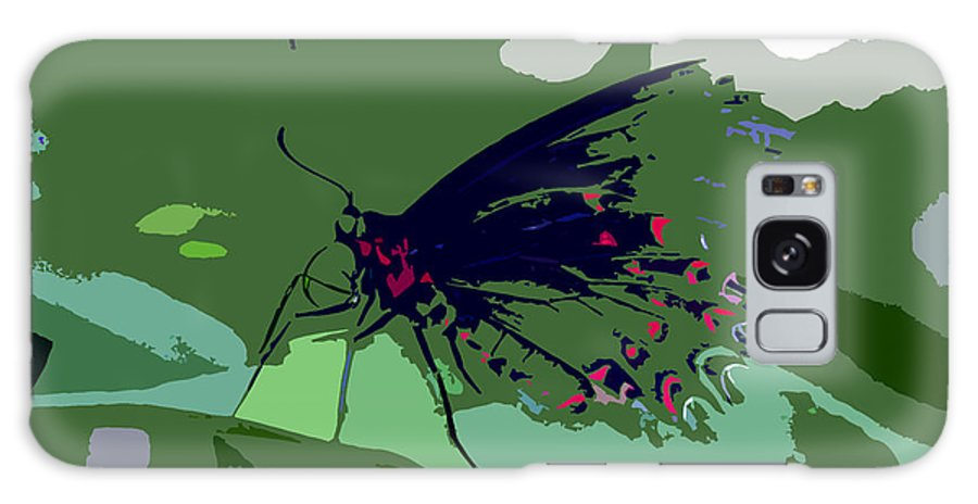Butterfly Galaxy S8 Case featuring the photograph Butterfly Work Number Ten by David Lee Thompson
