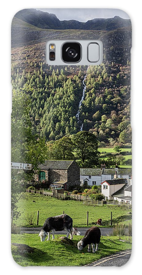Buttermere Galaxy S8 Case featuring the photograph Buttermere Village by Graham Moore