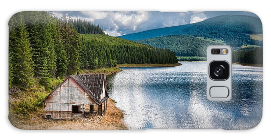 House Galaxy S8 Case featuring the photograph By The Lake by Gabriela Insuratelu