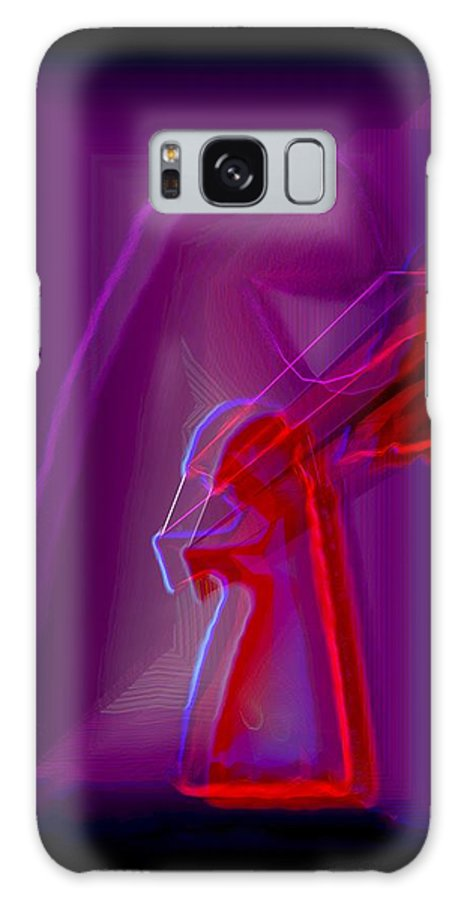Farewell Galaxy S8 Case featuring the digital art Bye by Helmut Rottler