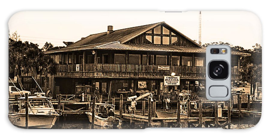 C Quarters Galaxy S8 Case featuring the photograph C Quarters Carrabelle Florida by Frank Feliciano
