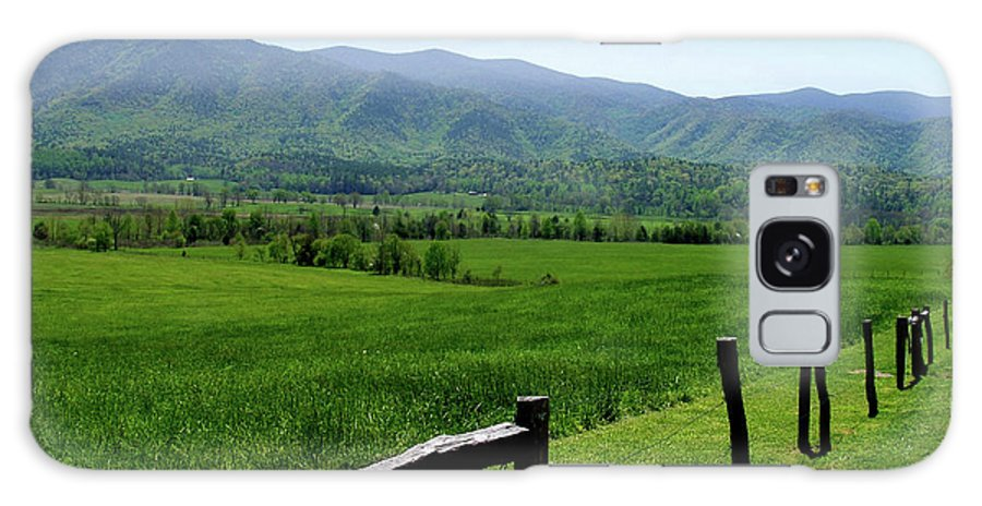 Cades Cove Galaxy S8 Case featuring the photograph Cades Cove View by Nancy Mueller