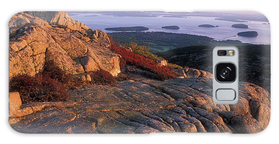 Acadia National Park Galaxy S8 Case featuring the photograph Cadillac Mountain At Sunrise by John Burk