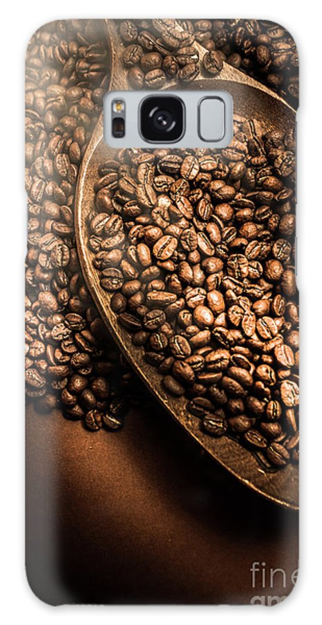 Coffee Galaxy S8 Case featuring the photograph Cafe Aroma Art by Jorgo Photography - Wall Art Gallery