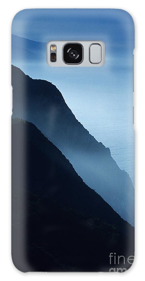 Beach Galaxy S8 Case featuring the photograph California Big Sur Coast by Larry Dale Gordon - Printscapes