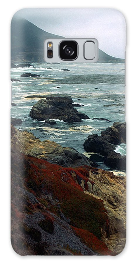 California Galaxy S8 Case featuring the photograph California Coast by Kathy Yates