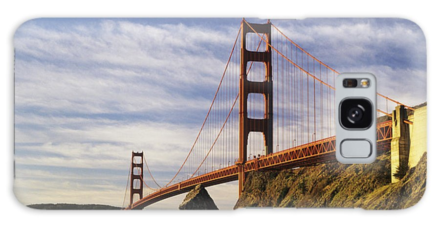 Across Galaxy S8 Case featuring the photograph California, San Francisco by Larry Dale Gordon - Printscapes