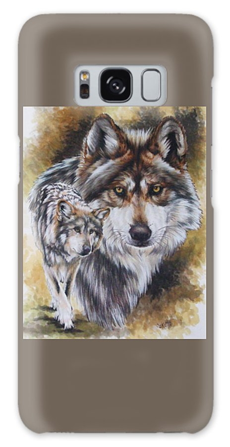 Wildlife Galaxy S8 Case featuring the mixed media Callidity by Barbara Keith