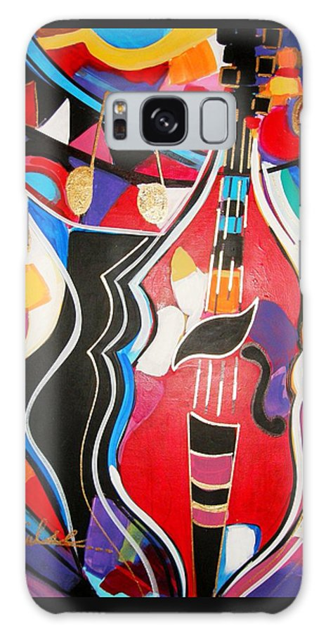 Music Galaxy S8 Case featuring the painting Calling Me Home by Gina Hulse