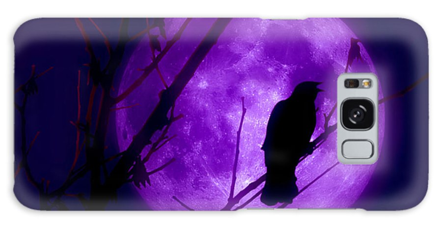 Moon Galaxy S8 Case featuring the photograph Calling Out To The Night by Kenneth Krolikowski