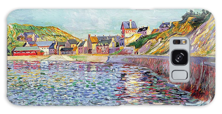 Port-en-bessin Galaxy S8 Case featuring the painting Calvados by Paul Signac