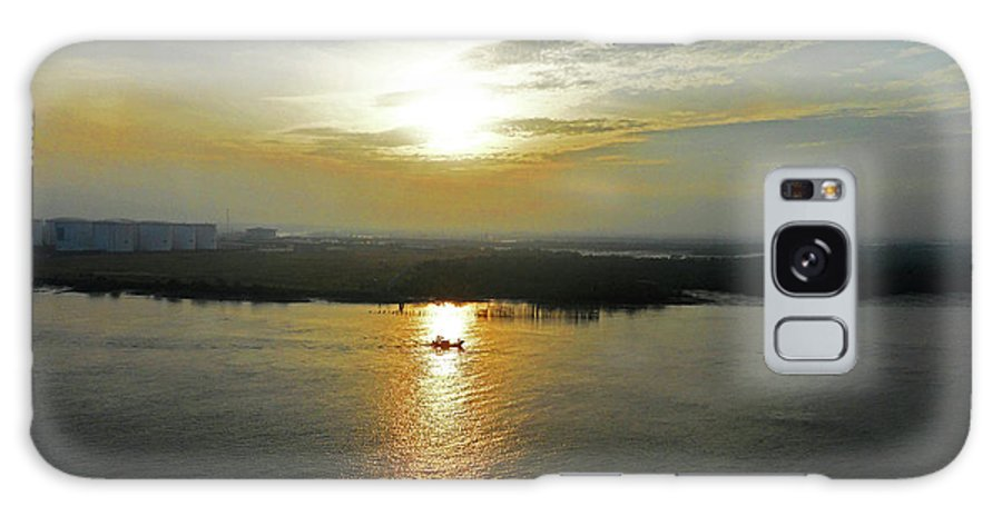 Cambodia Galaxy S8 Case featuring the photograph Cambodian Sunsets 3 by Ron Kandt