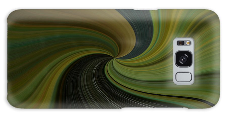 Abstract Galaxy S8 Case featuring the digital art Camo Twist by Joshua Sunday