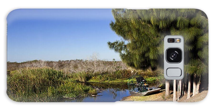 Florida Galaxy S8 Case featuring the photograph Camp Holly On The St Johns River In Florida by Allan Hughes