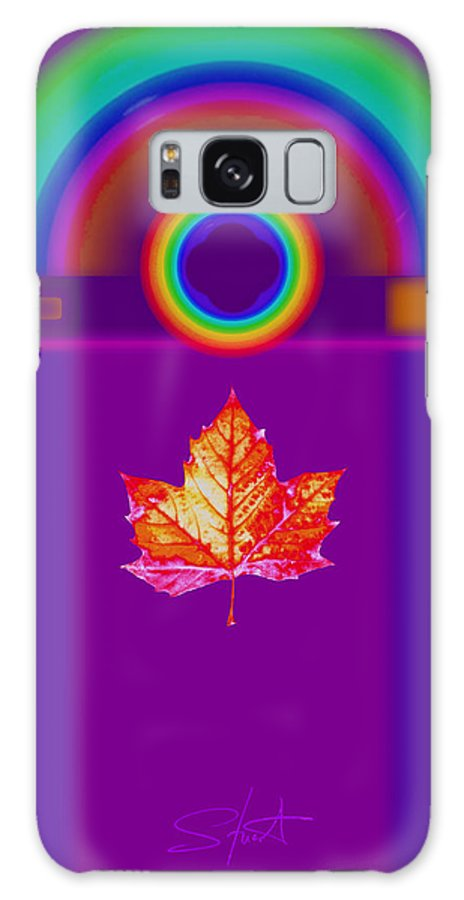 Classical Galaxy S8 Case featuring the digital art Canadian Palladian by Charles Stuart