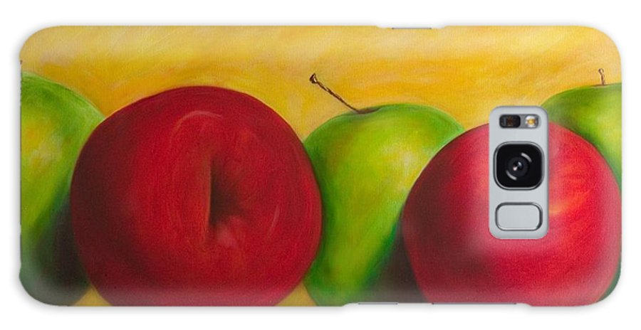 Still Life Galaxy Case featuring the painting Cancan by Shannon Grissom