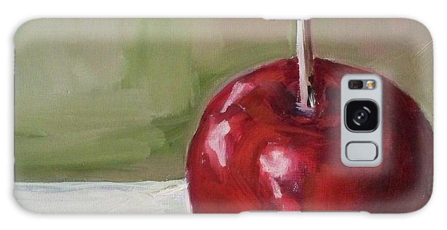 Candy Galaxy S8 Case featuring the painting Candy Apple by Kristine Kainer