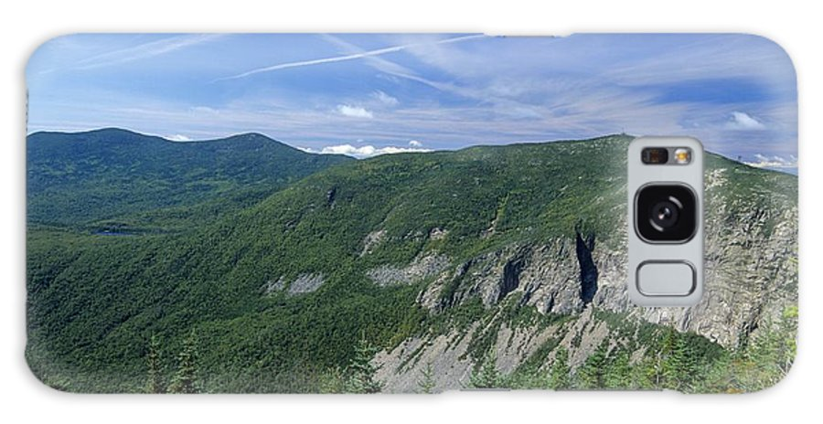 Cirrus Clouds Galaxy S8 Case featuring the photograph Cannon Mountain - White Mountains New Hampshire Usa by Erin Paul Donovan