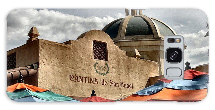 Cantina Galaxy S8 Case featuring the photograph Cantina De San Angel by Nora Martinez
