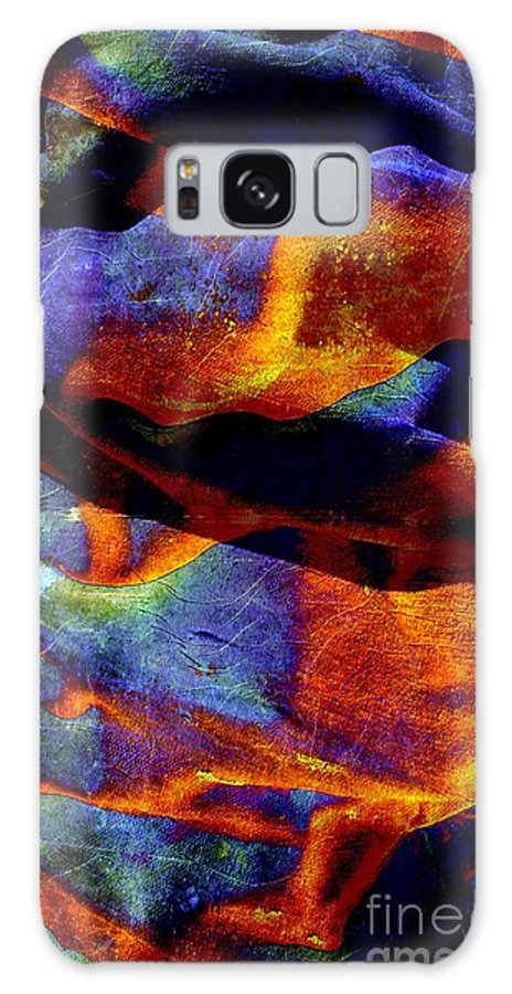 Canvas Galaxy S8 Case featuring the digital art Canvas by Ron Bissett