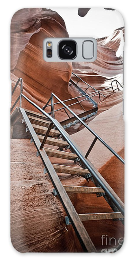 Slot Canyon Galaxy S8 Case featuring the photograph Canyon Exit by Scott Sawyer