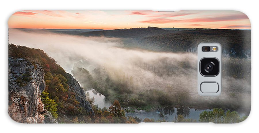 Dawn Galaxy S8 Case featuring the photograph Canyon Of Mists by Evgeni Dinev