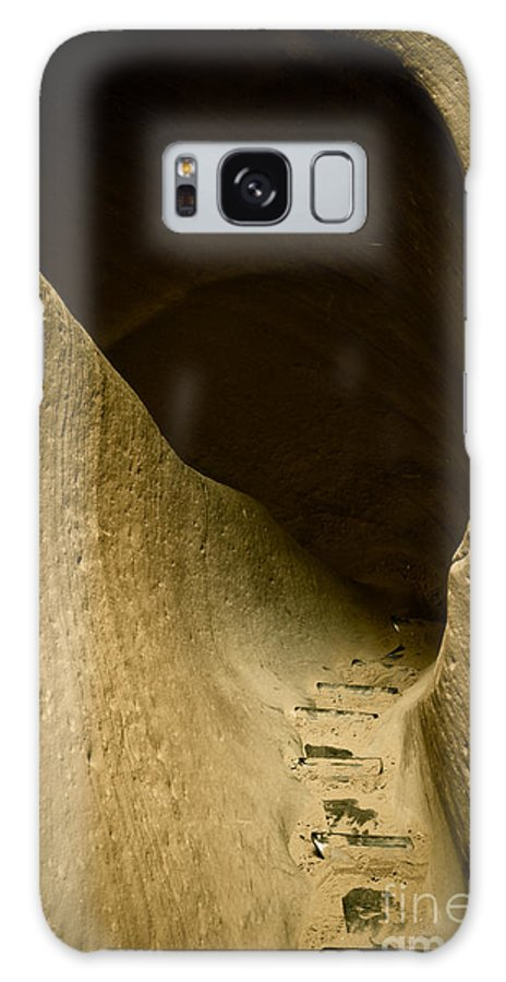 Photograph Galaxy S8 Case featuring the photograph Canyon Steps by Scott Sawyer