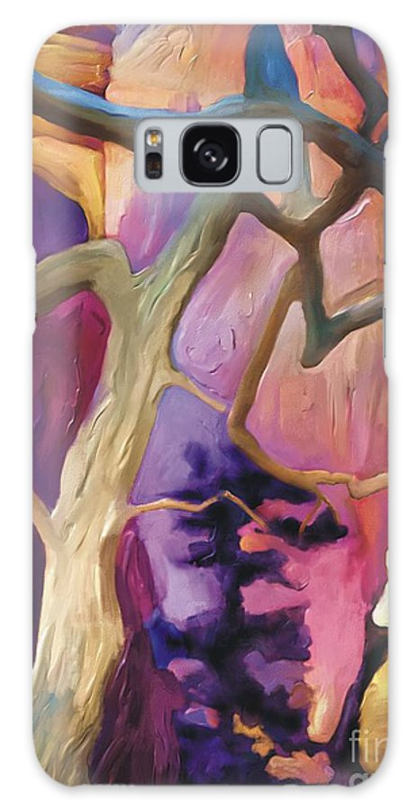 Grand Canyon Galaxy S8 Case featuring the painting Canyon View by Bob Salo