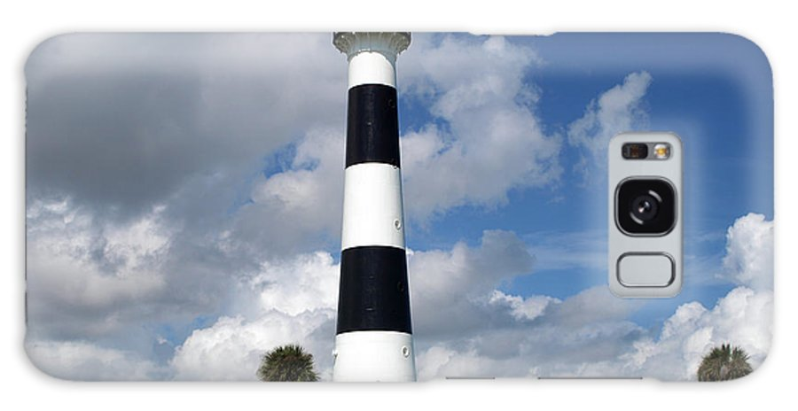 Lighthouse; Light; Canaveral; Cape; Cape Canaveral; Ccafs; Florida; East; Coast; Kennedy; Space; Cen Galaxy S8 Case featuring the photograph Cape Canaveral Light Florida by Allan Hughes