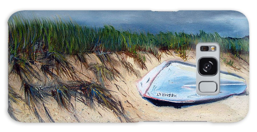 Boat Galaxy S8 Case featuring the painting Cape Cod Boat by Paul Walsh