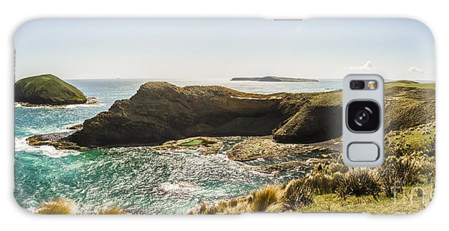 Tasmania Galaxy S8 Case featuring the photograph Cape Grim Cliff Panoramic by Jorgo Photography - Wall Art Gallery