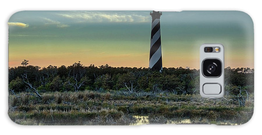 Landscapes Galaxy S8 Case featuring the photograph Cape Hatteras Sunset by Donald Brown