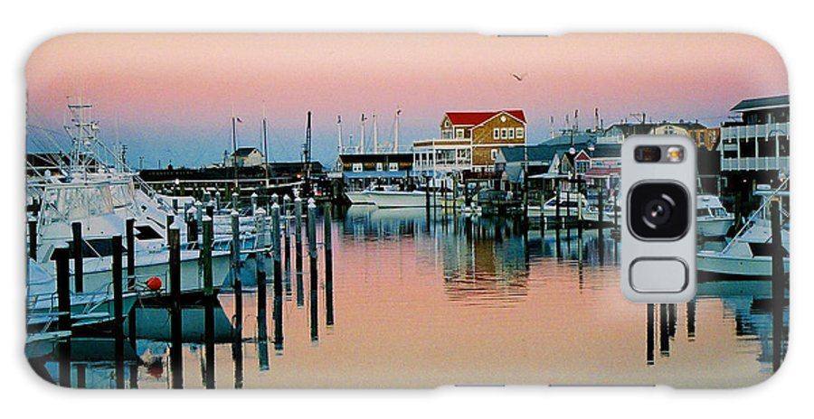 Cape May Galaxy S8 Case featuring the photograph Cape May after Glow by Steve Karol