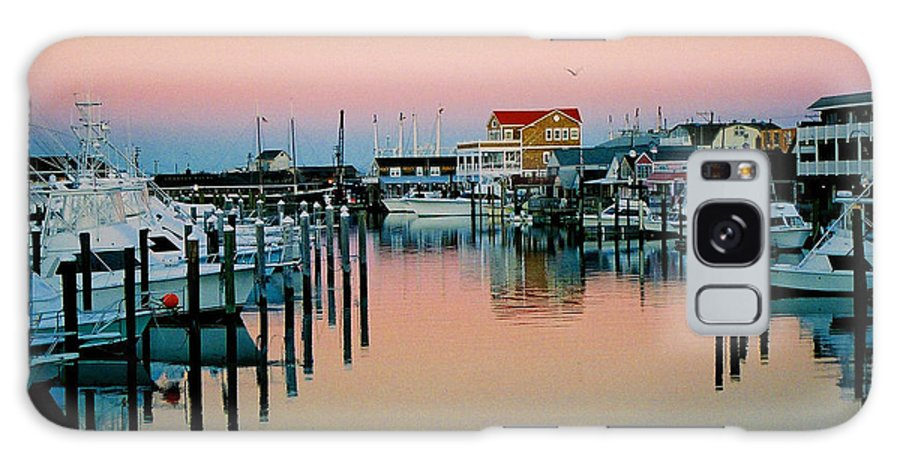 Cape May Galaxy Case featuring the photograph Cape May After Glow by Steve Karol