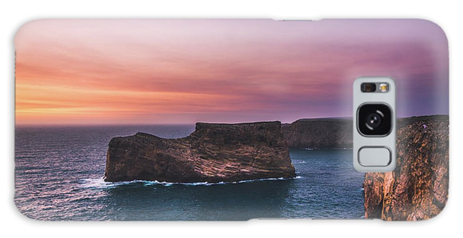 Cape Galaxy S8 Case featuring the photograph Cape Sagres Viewpoint by Golam Mortuja