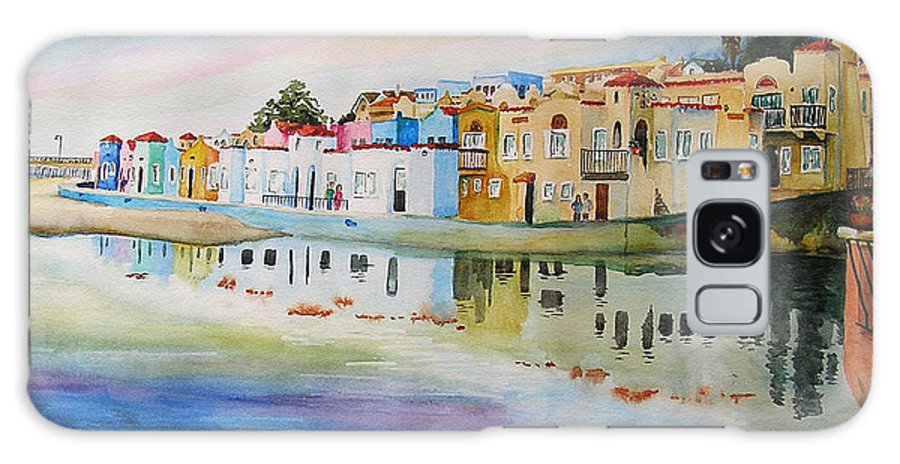 Capitola Galaxy S8 Case featuring the painting Capitola by Karen Stark