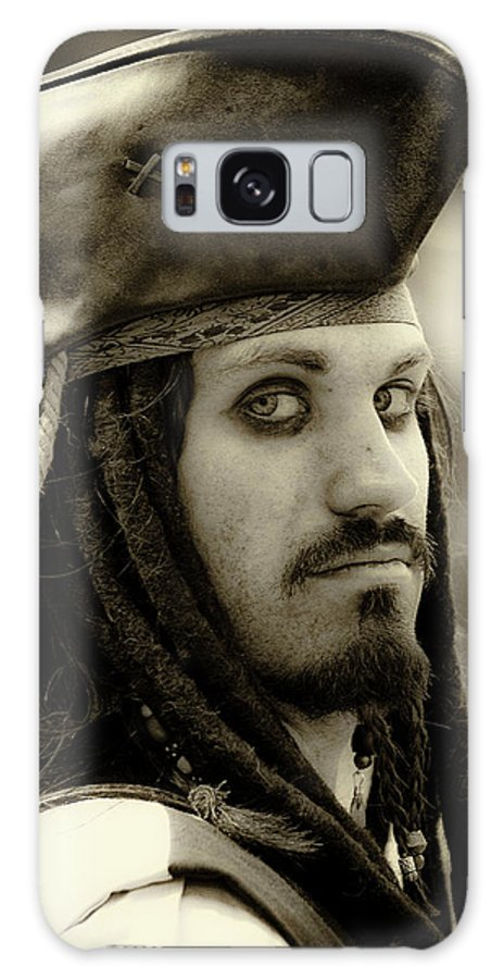 Pirate Galaxy S8 Case featuring the photograph Captain Jack Sparrow by David Patterson