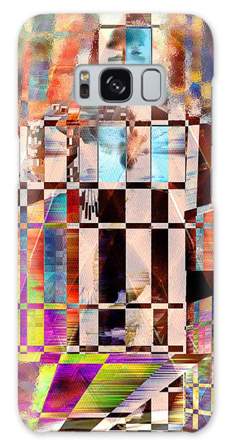 Abstract Galaxy Case featuring the photograph Captivia by Seth Weaver